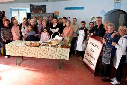 Membres de l'Académie des traditions Abadiennes