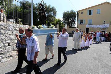 Comité des Fêtes lors d'un Procession