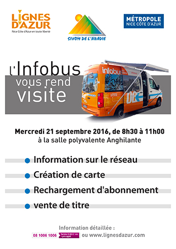 Infobus Abadie - 21 septembre 2016 (affiche)