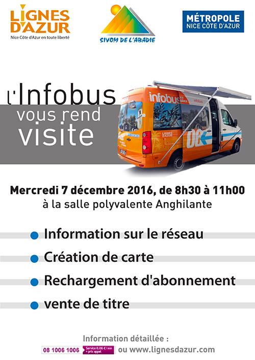 Infobus Abadie - 7 décembre 2016 (affiche)