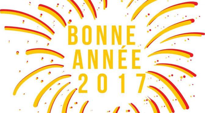 Voeux 2017 : Bonne année