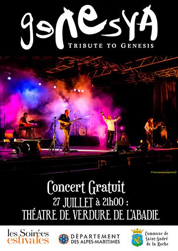 Affiche pour Genesya : Soirée Estivale
