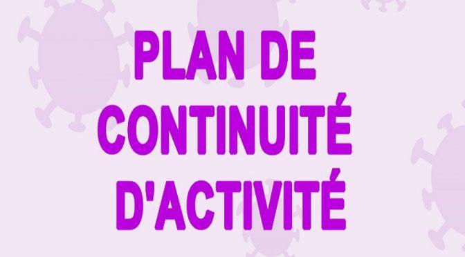 Le SIVoM ABADIE active son Plan de Continuité d'Activité