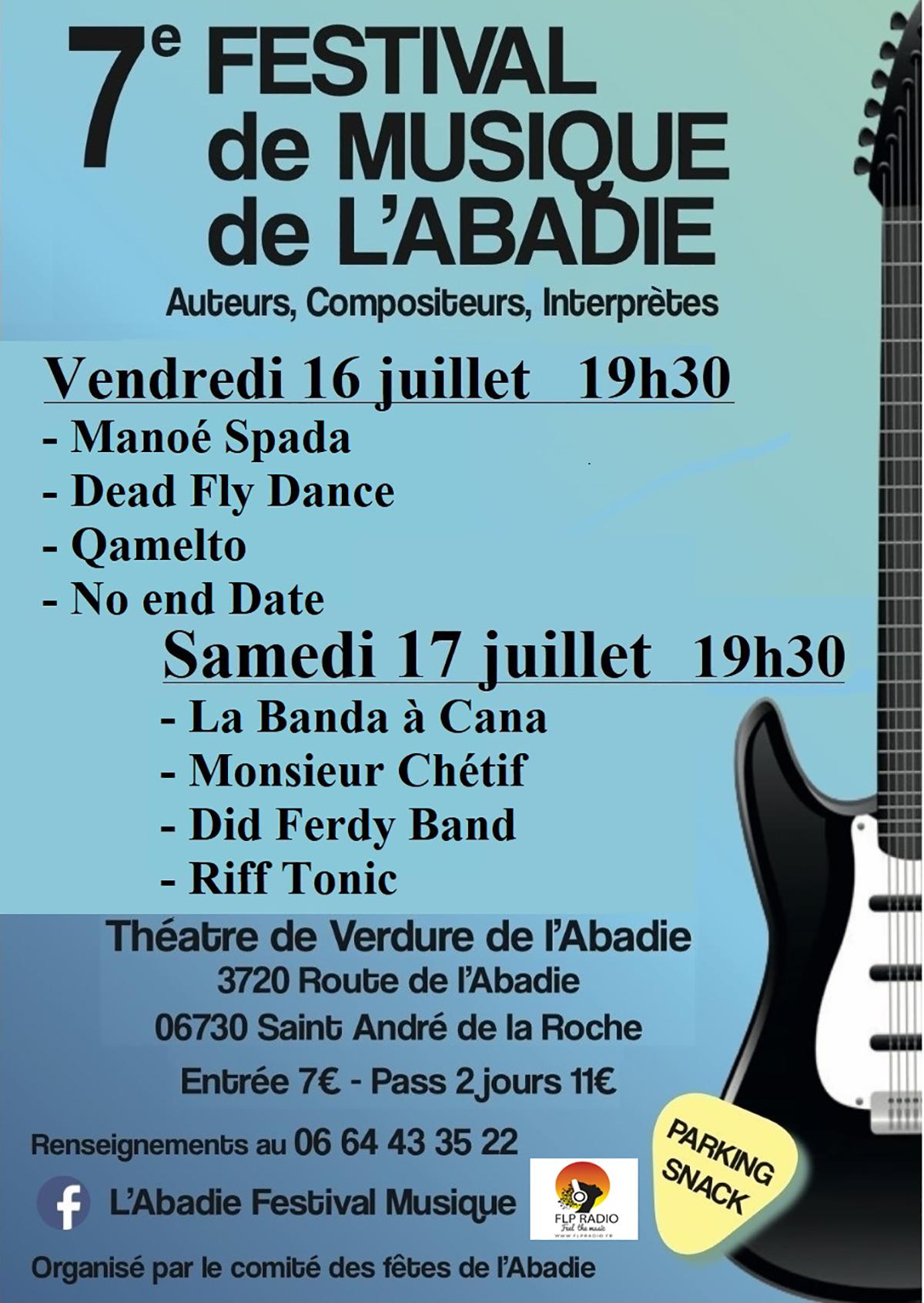 7e Festival de Musique de l'Abadie